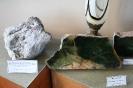 Экспозиция минералов нефрита и турмалина
