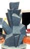 Кристалл угля. Сконструирован Хакиным Е. Автор фото В.Н. Плеханова